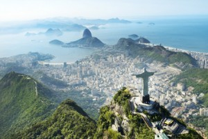 A photo of beautiful Rio de Janeiro and the Christ Statue, taken on a custom vacation from Southern Crossings.